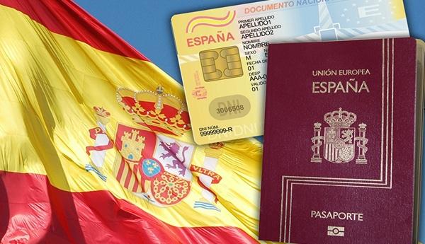 جواز سفر اسباني