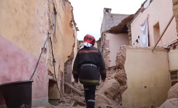 انهيار منزل بني ملال